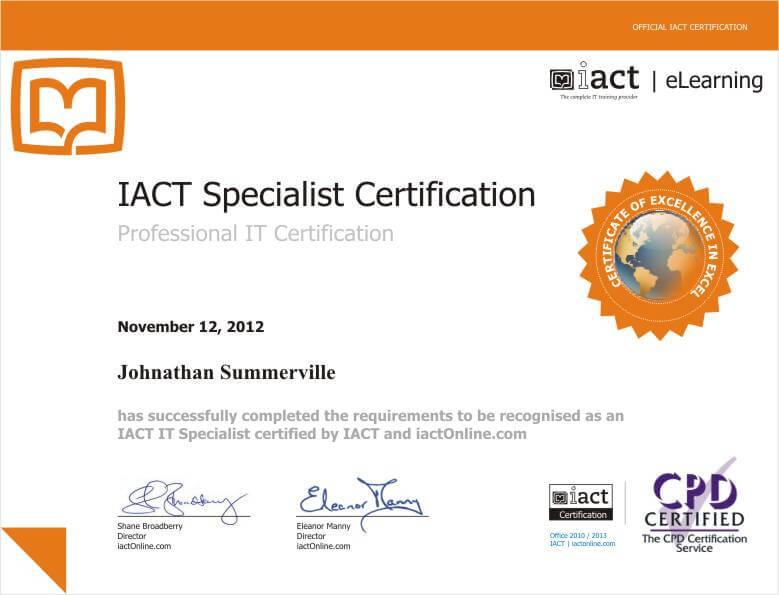 IACT_Specialist