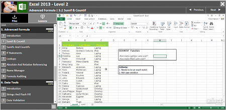 Excel 2013 Level 2 - Demo
